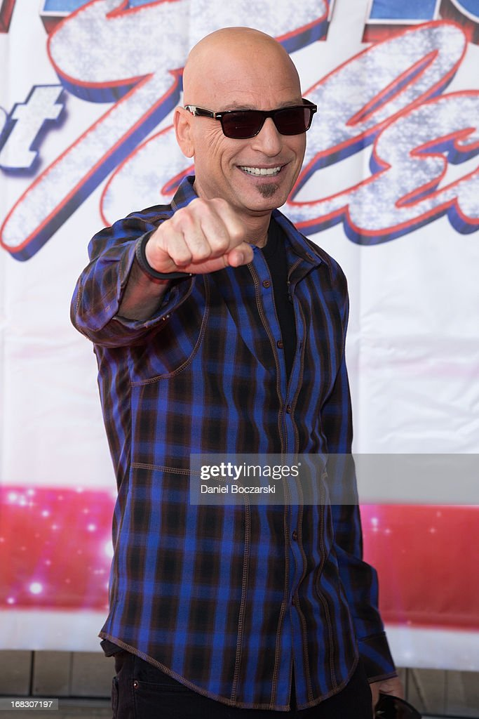 <a gi-track='captionPersonalityLinkClicked' href=/galleries/search?phrase=Howie+Mandel&family=editorial&specificpeople=595760 ng-click='$event.stopPropagation()'>Howie Mandel</a> attends 'America's Got Talent' Season 8 Meet The Judges Red Carpet Event at Akoo Theatre at Rosemont on May 8, 2013 in Rosemont, Illinois.