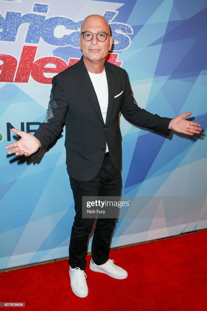 Howie Mandel attends NBC's 'America's Got Talent' Season 12 Live Show at Dolby Theatre on August 22, 2017 in Hollywood, California.