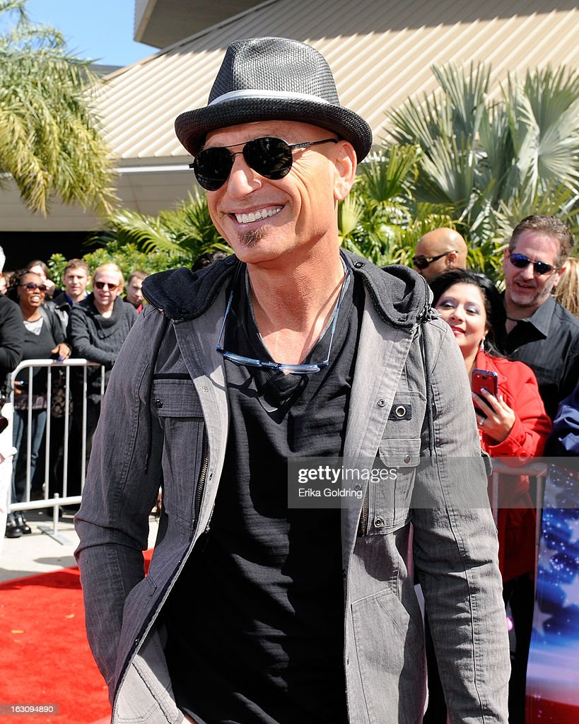 <a gi-track='captionPersonalityLinkClicked' href=/galleries/search?phrase=Howie+Mandel&family=editorial&specificpeople=595760 ng-click='$event.stopPropagation()'>Howie Mandel</a> attends the 'America's Got Talent' New Orleans auditions as a judge at UNO Lakefront Arena on March 4, 2013 in New Orleans, Louisiana.