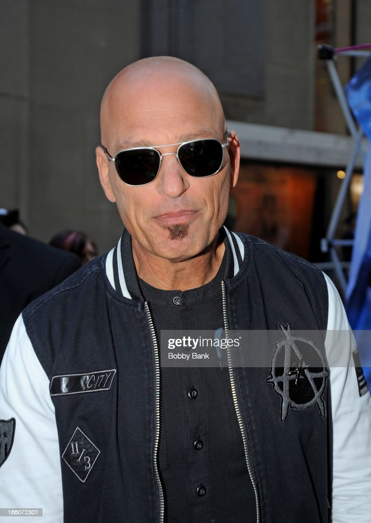 <a gi-track='captionPersonalityLinkClicked' href=/galleries/search?phrase=Howie+Mandel&family=editorial&specificpeople=595760 ng-click='$event.stopPropagation()'>Howie Mandel</a> attends the 'America's Got Talent' New York Auditions at Rockefeller Center on April 8, 2013 in New York City.