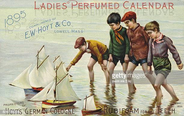 Hoyt's German Cologne Lady's Perfumed Calendar