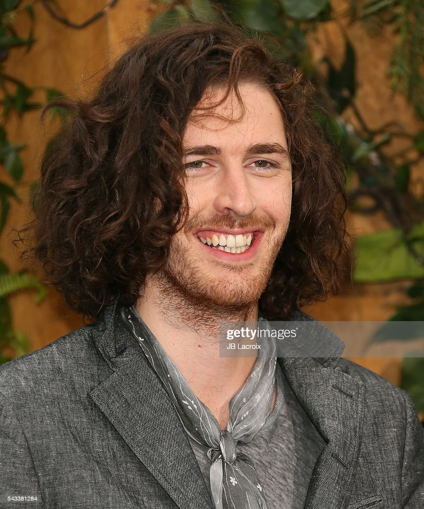 <a gi-track='captionPersonalityLinkClicked' href=/galleries/search?phrase=Hozier&family=editorial&specificpeople=1868607 ng-click='$event.stopPropagation()'>Hozier</a> attends the premiere of Warner Bros. Pictures' 'The Legend of Tarzan' on June 27, 2016 in Hollywood, California.