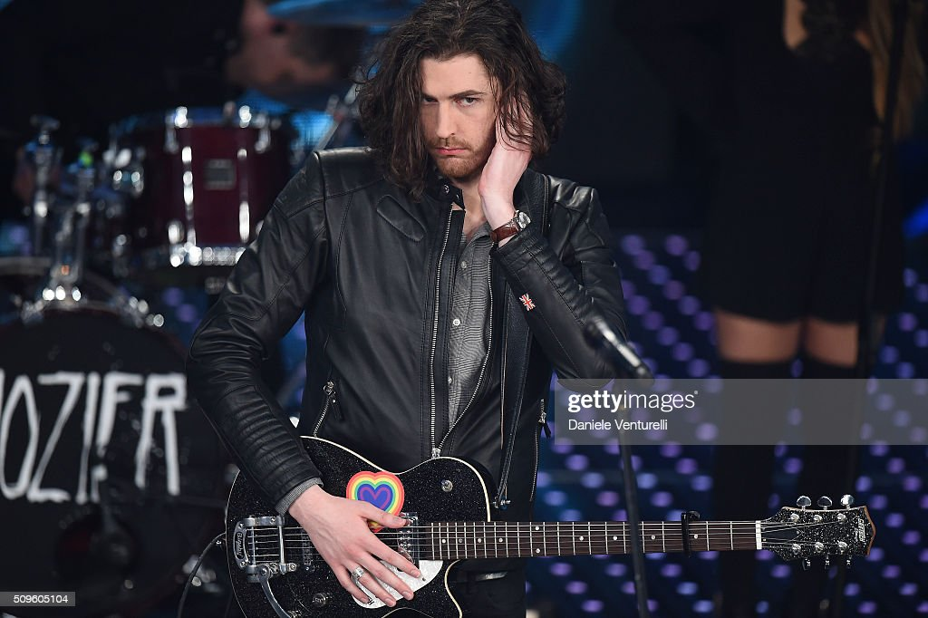 Hozier attends the third night of the 66th Festival di Sanremo 2016 at Teatro Ariston on February 11, 2016 in Sanremo, Italy.