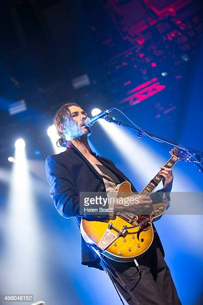 Hozier performs on stage for iTunes Festival at The Roundhouse on September 24 2014 in London United Kingdom