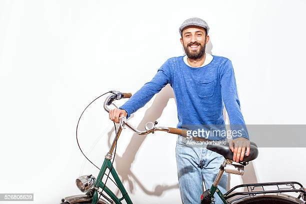 Hpister and his bicycle