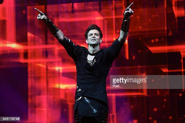 Hrithik Roshan attends the 17th IIFA Awards ceremony at Ifema on June 25 2016 in Madrid Spain
