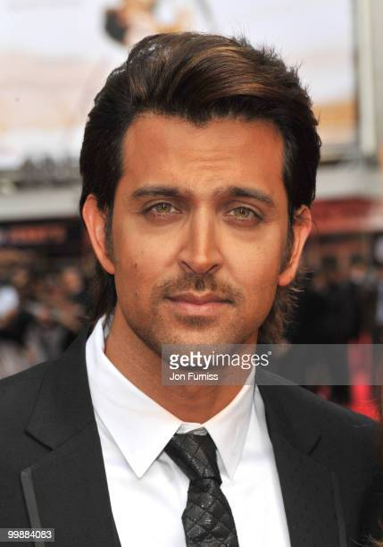 Hrithik Roshan attends the European Premiere of 'Kites' at Odeon West End on May 18 2010 in London England