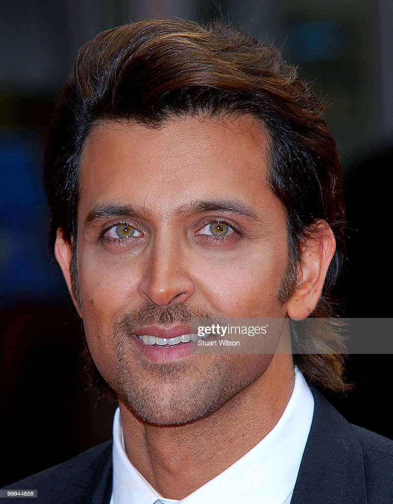 Hrithik Roshan attends the European Premiere of 'Kites' at Odeon West End on May 18, 2010 in London, England.