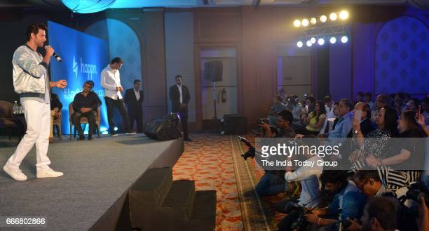 Hrithik Roshan during the Press Conference of Happn App in Mumbai