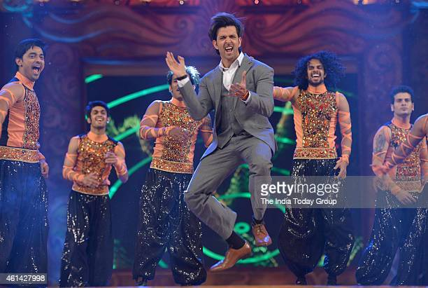 Hrithik Roshan performing in Mumbai police show UMANG at Andheri sports complex