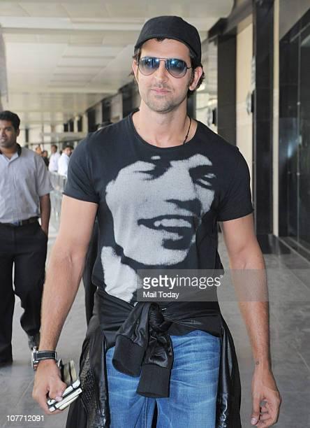 Hrithik Roshan spotted at Mumbai airport