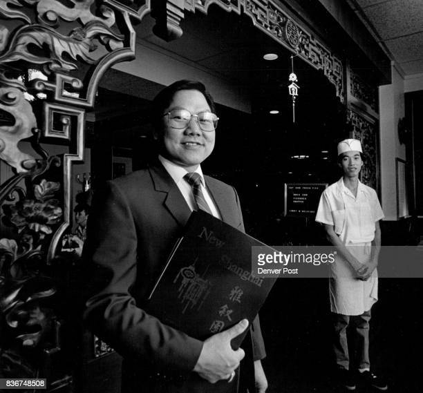 Hsu family restaurants New Shanghai Bill Hsu behind him is Peter Lui brotherinlaw cook in the restaurant for 8 years Credit The Denver Post