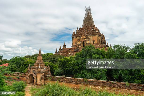 Htilominlo monastery in Bagan ancient city reconstruction after earthquake, Mandalay, Myanmar