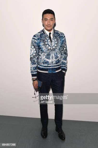 Hu Bing attends the Christopher Raeburn show during London Fashion Week Men's June 2017 collections on June 11 2017 in London England