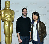 Hu Wei Julien Feret attend The 2014 Academy AwardNominated Short Films on February 14 2015 in New York City