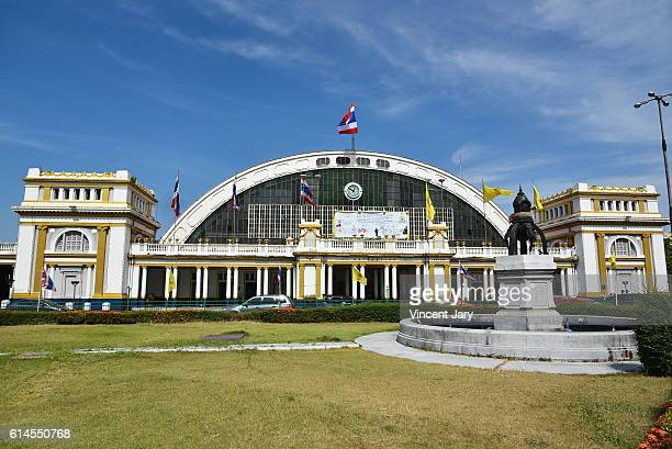 Hua Lamphong railway station Bangkok Thailand, Asia