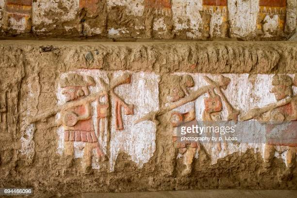 peru temple of the moon moche valley stock photos and pictures getty images