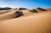 Huacachina desert in Ica Region, southwestern Peru