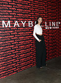 Huan Zhou attends Maybelline New York celebrates fashion week at Dream Downtown Hotel on February 12 2016 in New York City