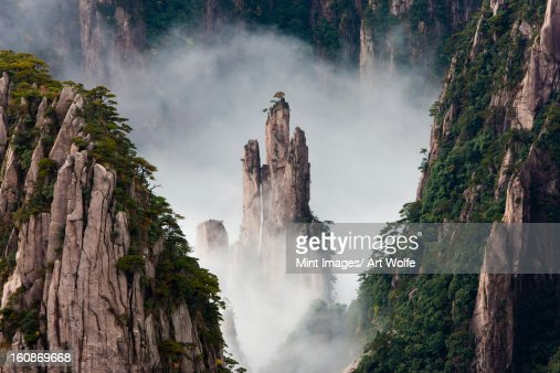Mt Huangshan Stock Photos and Pictures