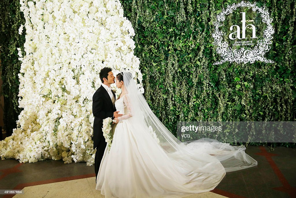Huang Xiaoming And Angelababy Hold Wedding Ceremony In Shanghai