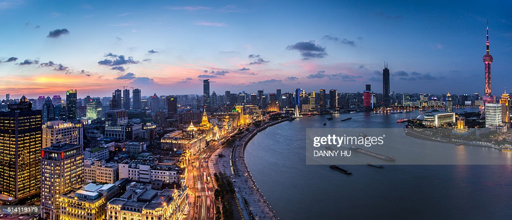 Huangpu riversde