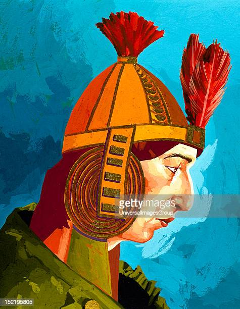 Huascar Inca Sapa Inca of the Inca empire from 1527 to 1532 AD succeeding his father Huayna Capac and brother Ninan Cuyoch