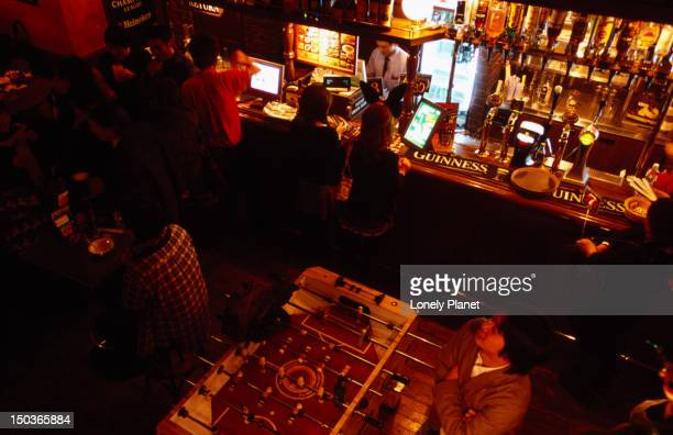 Hub, gaijin (foreigner) bar, Kiyamachi Street.