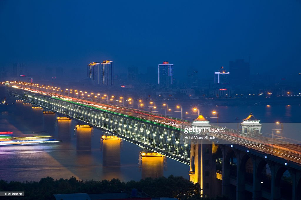 Hubei,Wuhan,The Yangtze River Bridge of Wuhan,