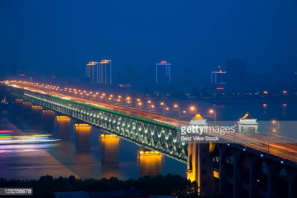 Hubei,Wuhan,The Yangtze River Bridge of Wuhan,