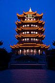Hubei,Wuhan,Yellow Crane Pagoda,