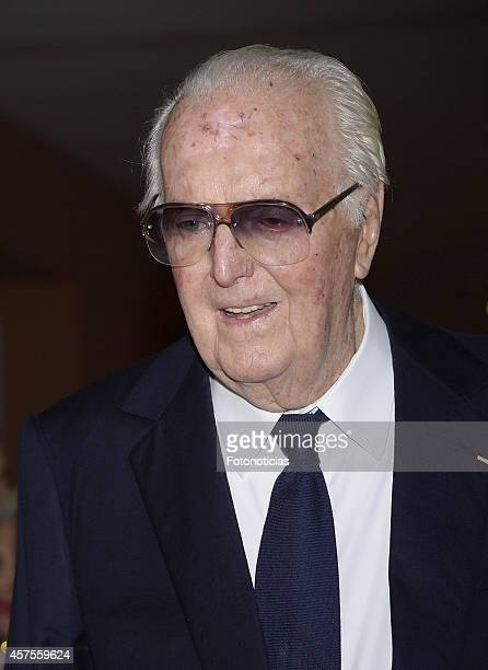 Hubert de Givenchy attends the 'Hubert de Givenchy' exhibition opening cocktail at the ThyssenBornemisza Museum on October 20 2014 in Madrid Spain