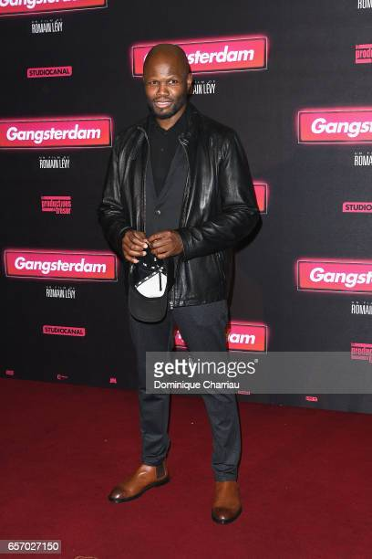 Hubert Kound attends the Gangsterdam Paris Premiere at Le Grand Rex on March 23 2017 i