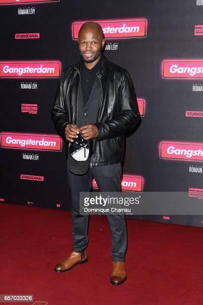 Hubert Kound attends the 'Gangsterdam' Paris Premiere at Le Grand Rex on March 23 2017 in Paris France
