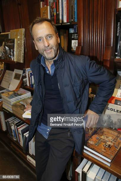Hubert Le Gall attends Bertrand Matteoli Signing Book 'Bien Dans Sa Peau' at Librairie Galignali on March 18 2017 in Paris France