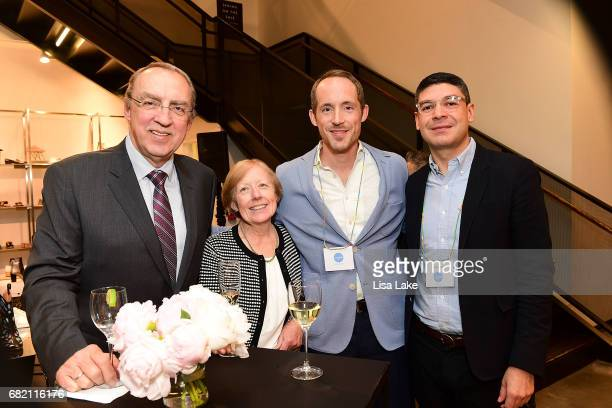Hubertus Ingeborg Tim Behle and Werner Orellana attend the Barneys New York Foundation and Simon Doonan Celebrate UNICEF USA on May 11 2017 in...