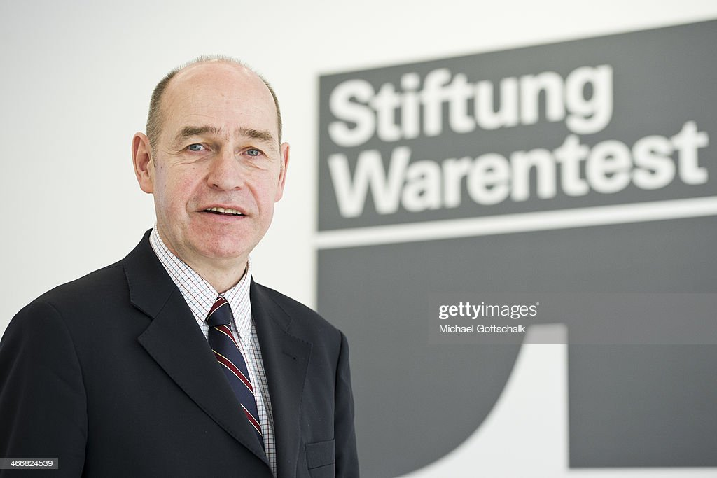 Hubertus Primus, chairman of Stiftung Warentest poses for a portrait on February 04, 2014 in Berlin, Germany. Stiftung Warentest is a public institution that examines consumer products for their safety.