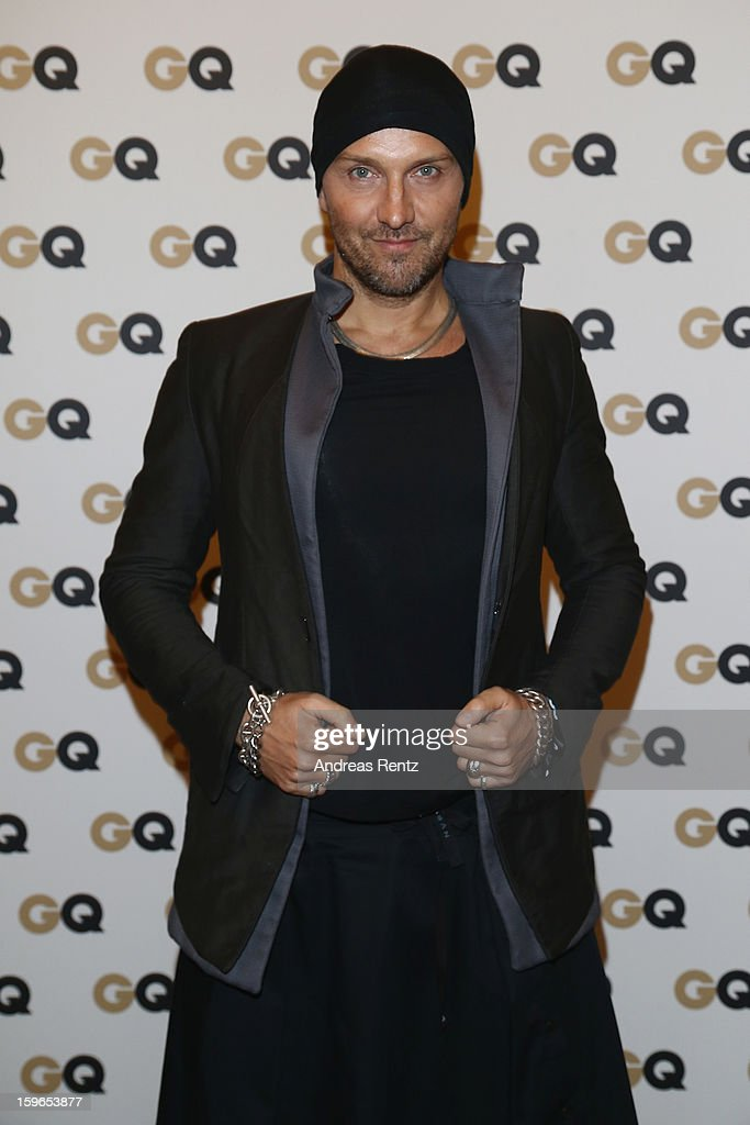 Hubertus Regout attends GQ Best Dressed cocktail at Das Stue hotel on January 17, 2013 in Berlin, Germany.