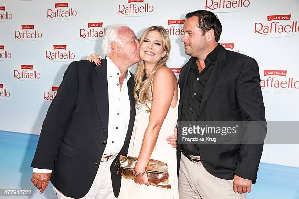 Hubertus Wriedt Verena Wriedt and Thomas Schubert attend the Raffaello Summer Day 2015 to celebrate the 25th anniversary of Raffaello on June 20 2015...