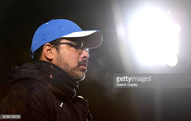 Huddersfield manager David Wagner during the Sky Bet Championship match between Burton Albion and Huddersfield Town at Pirelli Stadium on December 13...
