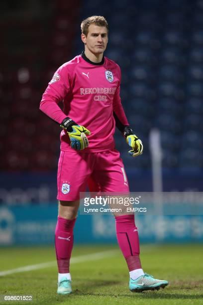 Huddersfield Town goalkeeper Alex Smithies