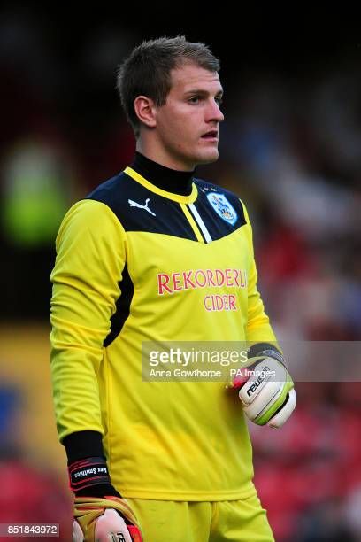 Huddersfield Town goalkeeper Alex Smithies