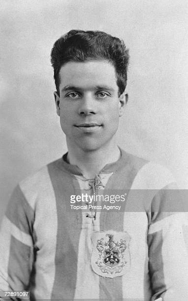 Huddersfield Town left half George Shaw 29th October 1925