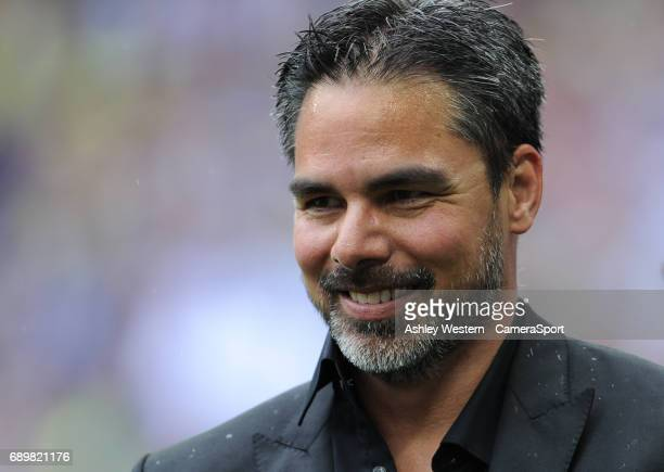 Huddersfield Town manager David Wagner after the EFL Sky Bet Championship PlayOff Final match between Huddersfield Town and Reading at Wembley...