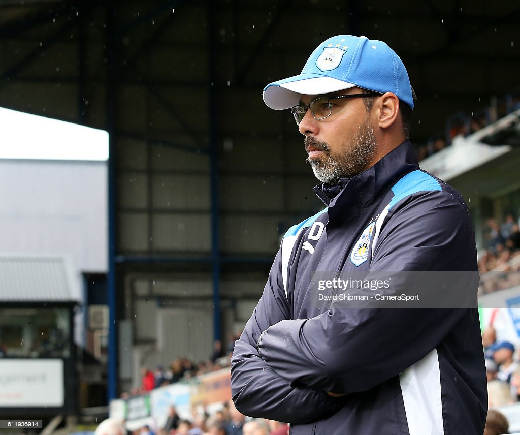 Huddersfield Town manager David Wagner before kick off during the Sky Bet Championship match between Ipswich Town and Huddersfield Town at Portman Road on October 1, 2016 in Ipswich, England.
