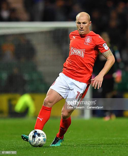 Huddersfield Town's Aaron Mooy during the Sky Bet Championship match between Preston North End and Huddersfield Town at Deepdale on October 19 2016...