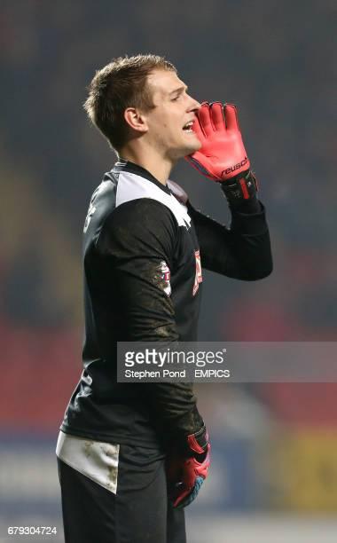Huddersfield Town's goalkeeper Alex Smithies