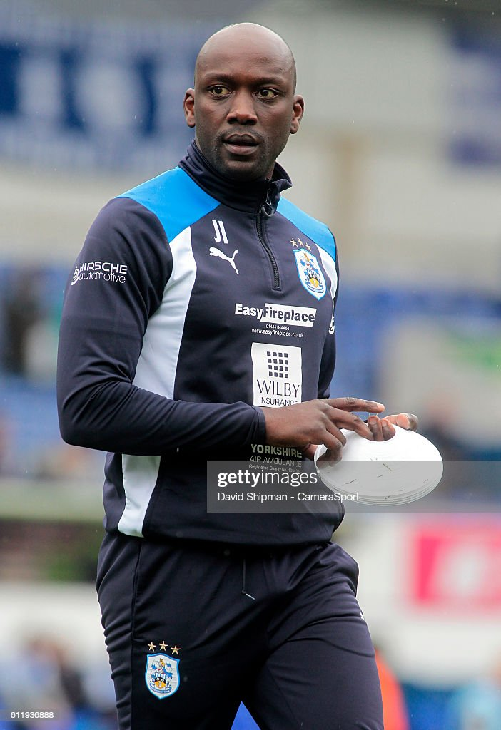 Huddersfield Town's Head of Performance Services Dr John Iga looks on during the pre-match warm-up during the Sky Bet Championship match between Ipswich Town and Huddersfield Town at Portman Road on October 1, 2016 in Ipswich, England.
