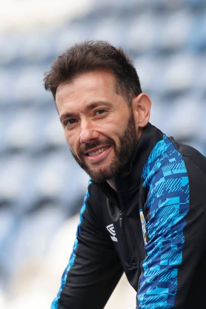 GBR: Huddersfield Town Unveil New Manager Carlos Corberán