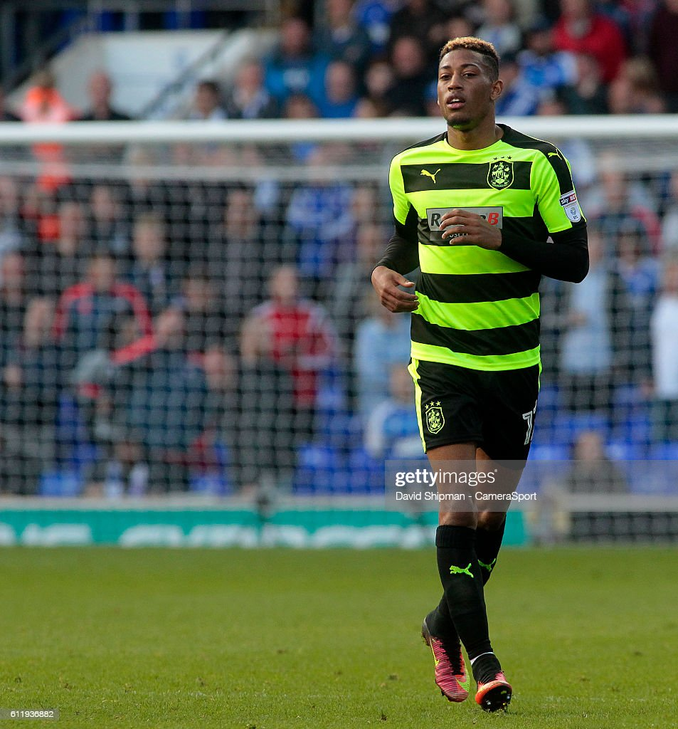 Huddersfield Town's Rajiv van La Parra in action during todays match during the Sky Bet Championship match between Ipswich Town and Huddersfield Town at Portman Road on October 1, 2016 in Ipswich, England.